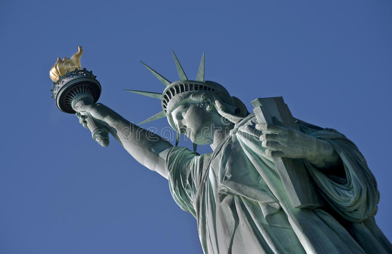 Statue of Liberty. stock photography