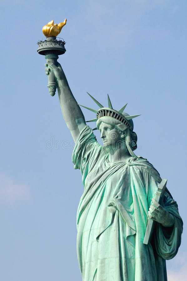 Download Statue of Liberty stock photo. Image of blue, torch, travel - 40383822
