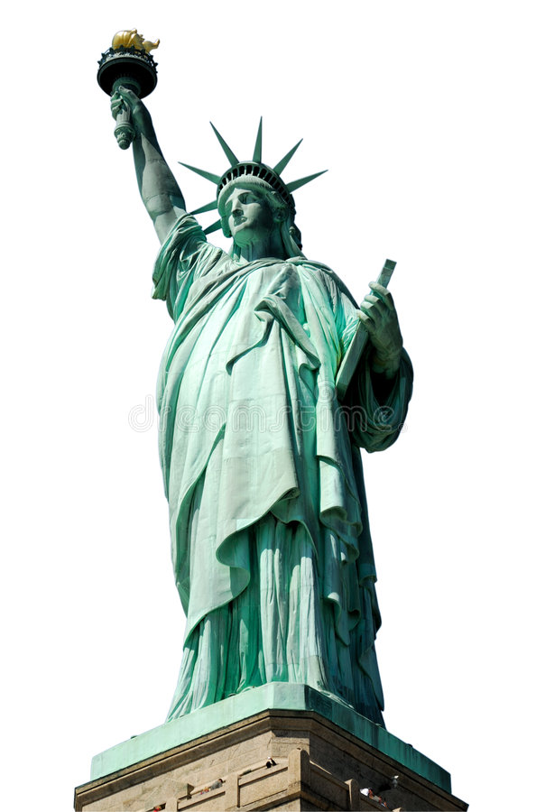 Statue Of Liberty Isolated Royalty Free Stock Images
