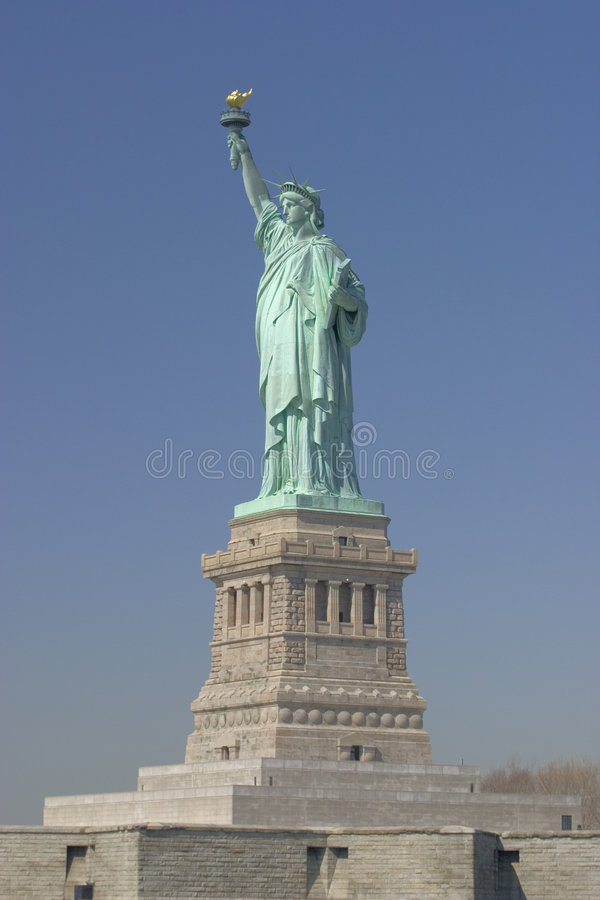 The Statue of Liberty - New York stock photo