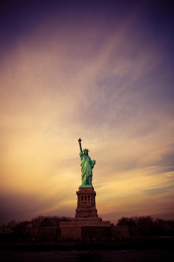 Statue Of Liberty, New York stock images
