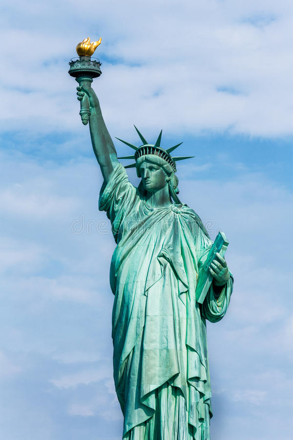 Statue of Liberty New York American Symbol USA stock images