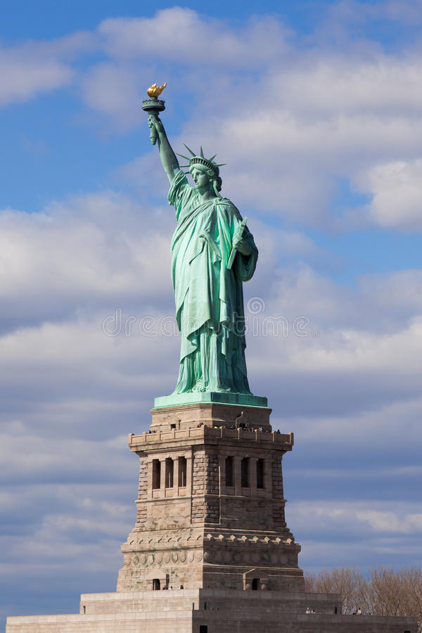 Download The Statue Of Liberty In New York City. Stock Image - Image: 20187169