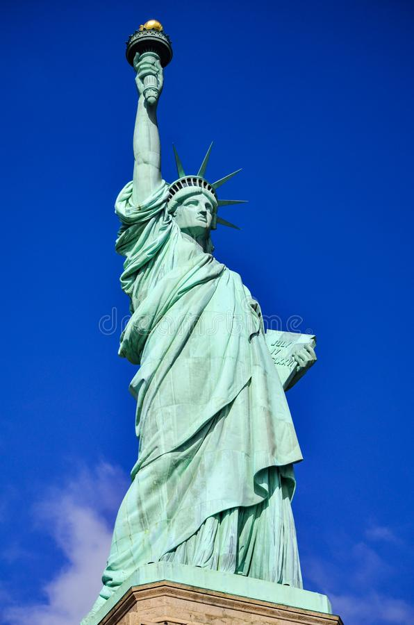 The Statue of Liberty in New York city, USA stock photography