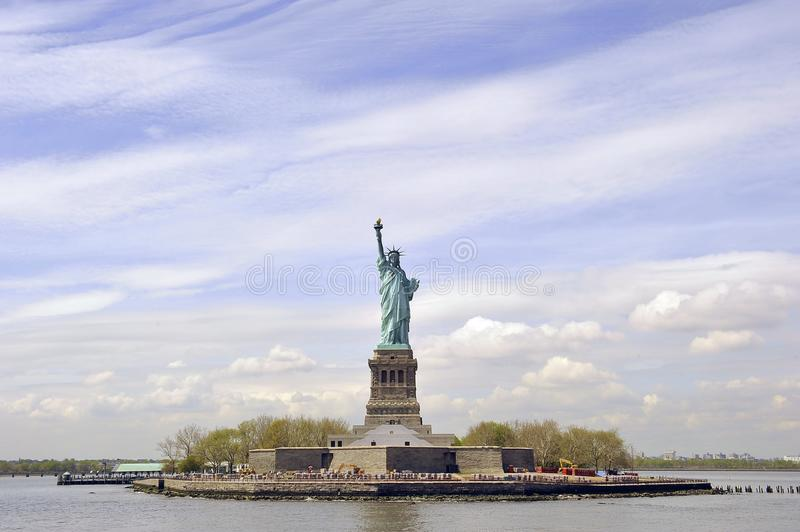 Statue of Liberty, New York City, USA.  royalty free stock photos
