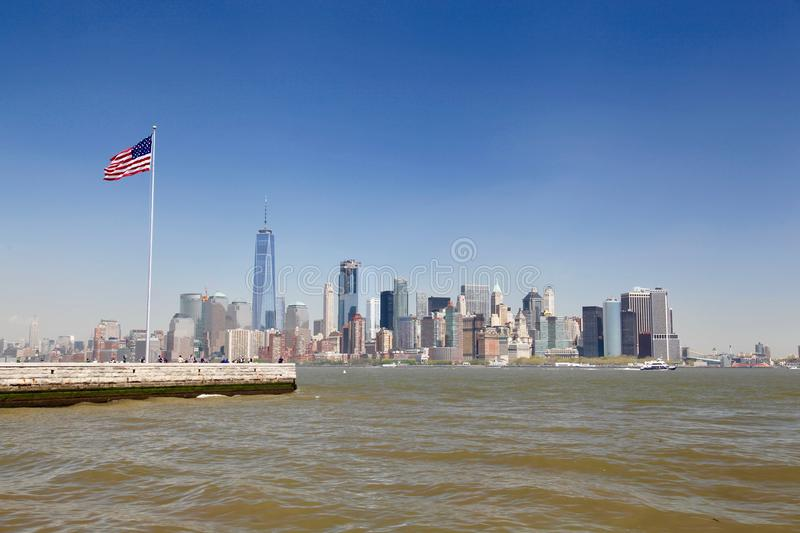 Statue of liberty, New-York city stock photo