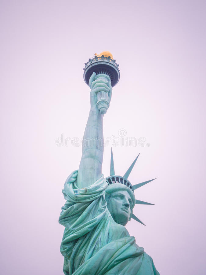 The statue of Liberty stock images