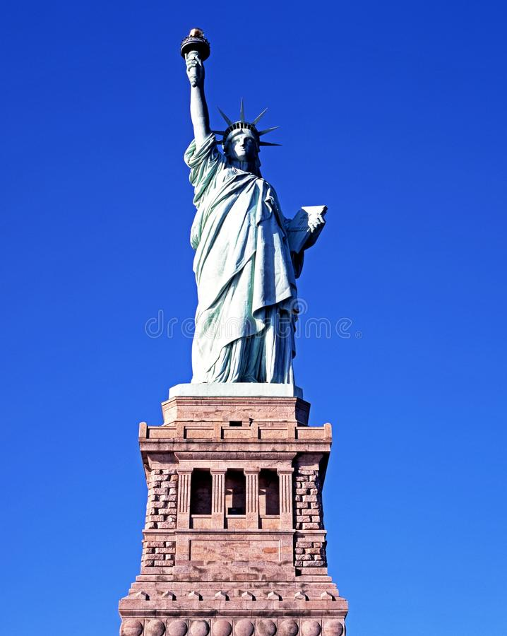 Statue of Liberty, New York. stock images