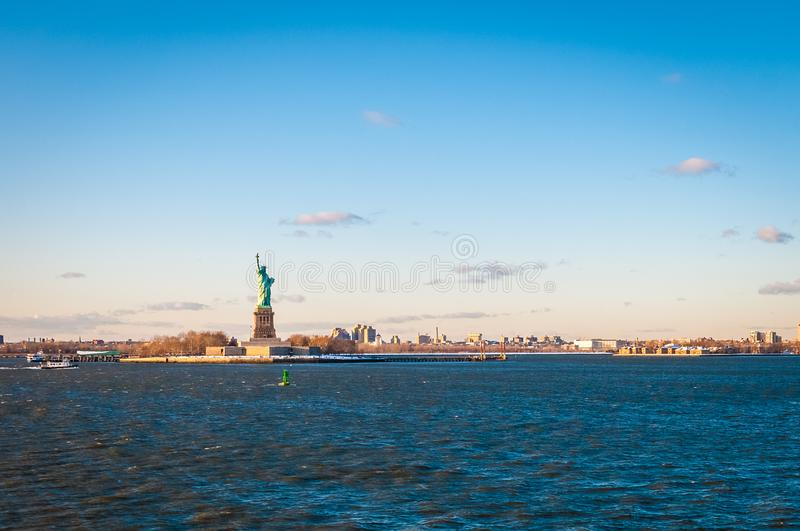 Statue of Liberty in New York, United States. Statue of Liberty in Liberty Island, New York City, United States of America royalty free stock image