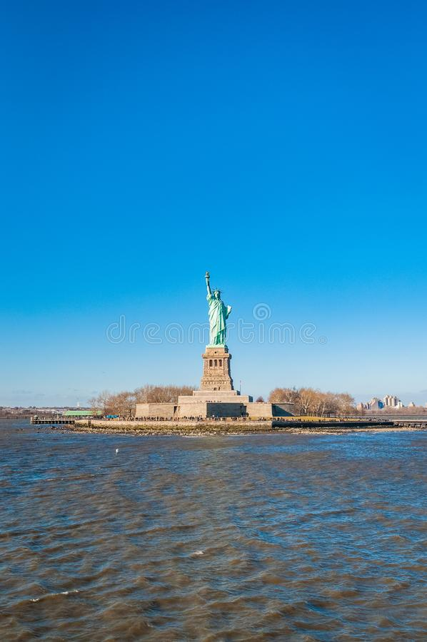 Statue of Liberty in New York, United States. Statue of Liberty in Liberty Island, New York City, United States of America royalty free stock photo