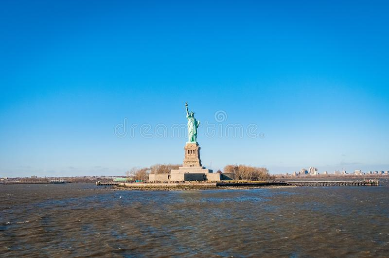 Statue of Liberty in New York, United States. Statue of Liberty in Liberty Island, New York City, United States of America royalty free stock photography