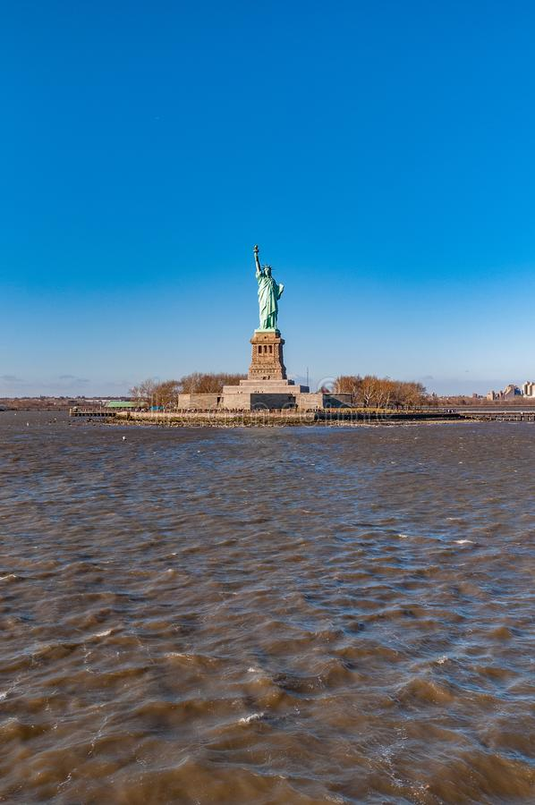 Statue of Liberty in New York, United States. Statue of Liberty in Liberty Island, New York City, United States of America stock images
