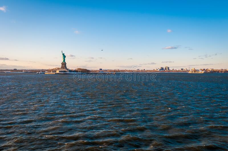 Statue of Liberty in New York, United States royalty free stock image