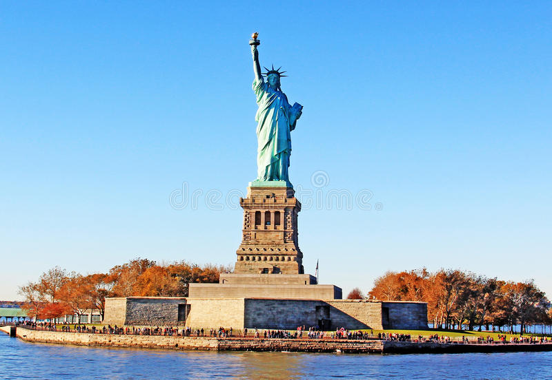 Download Statue of Liberty Park stock photo. Image of historic - 17158016