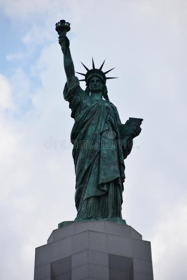 Statue of Liberty replica at Liberty Park in Vestavia Hills in Alabama stock images