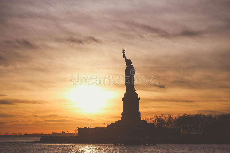 Statue Of Liberty At Sunset Free Public Domain Cc0 Image