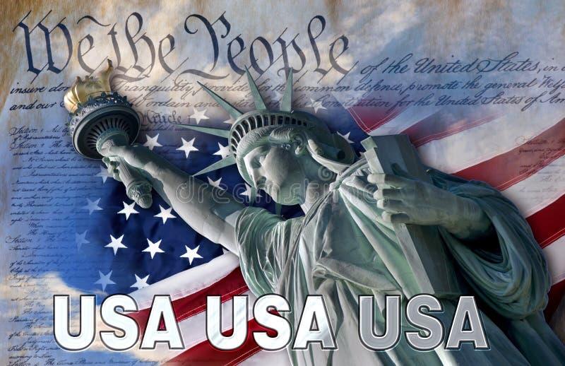 Statue of Liberty USA stock image