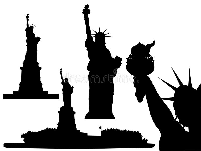 Statue of Liberty - vector stock illustration