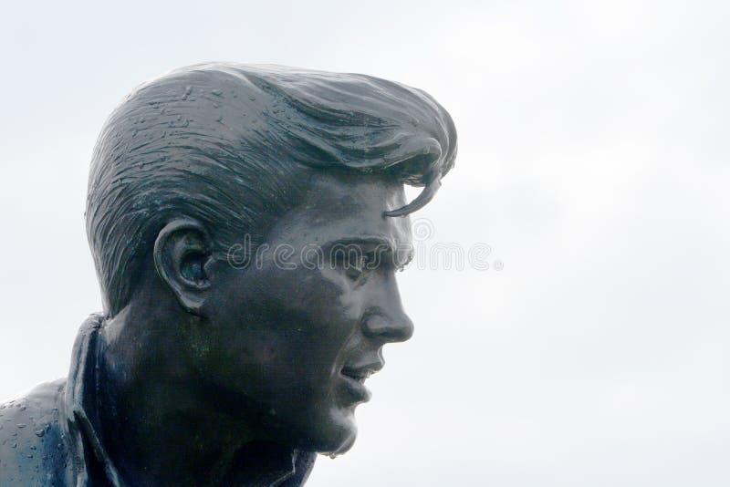 Statue Liverpool de Billy Furry images libres de droits