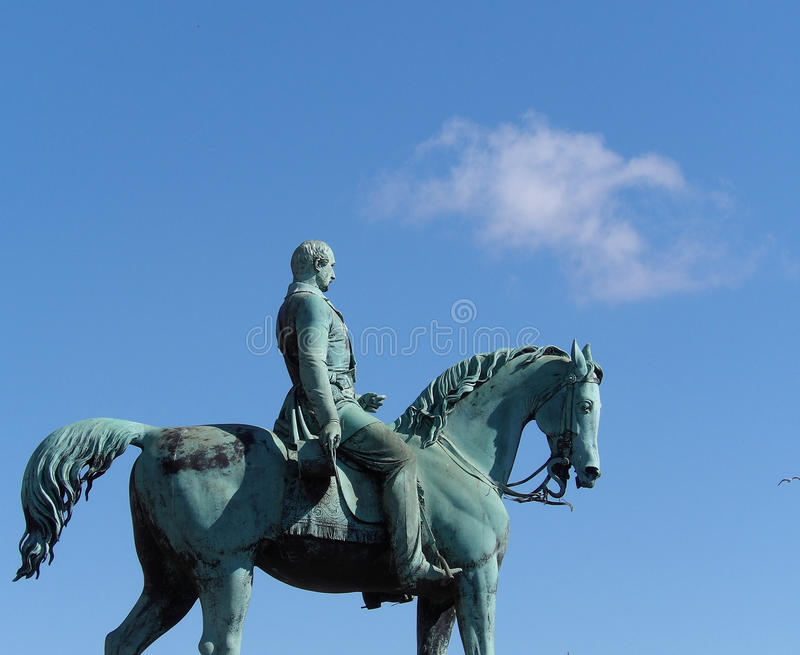 Statue Liverpool de prince Albert photographie stock