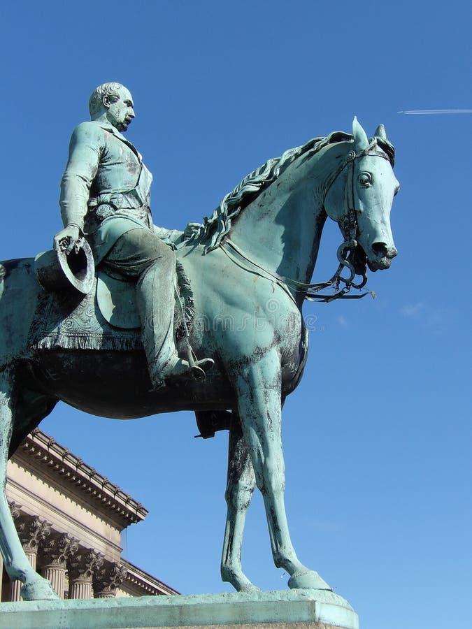 Statue Liverpool de prince Albert photos stock