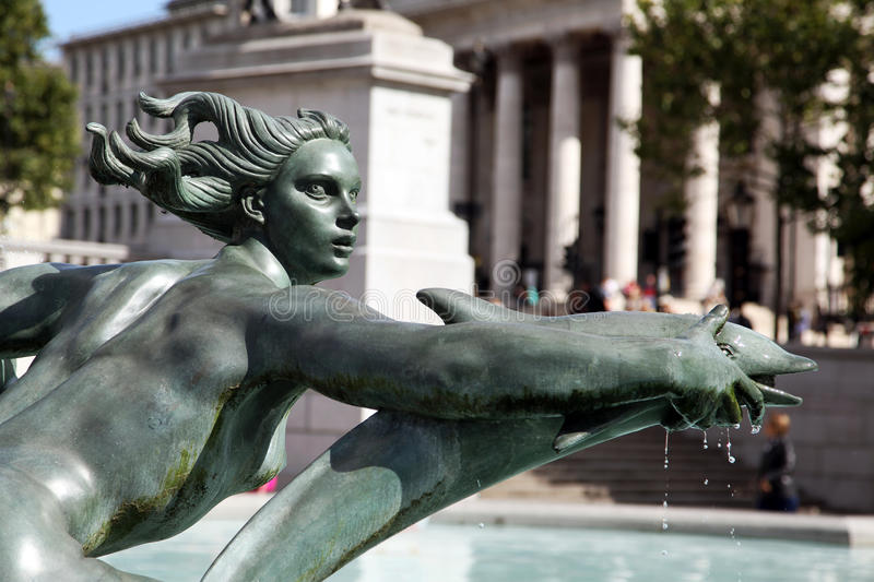 Download Statue in London stock photo. Image of metal, dripping - 10750580