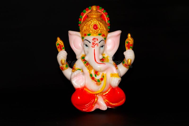 295 Lord Ganesha Black Background Photos Free Royalty Free