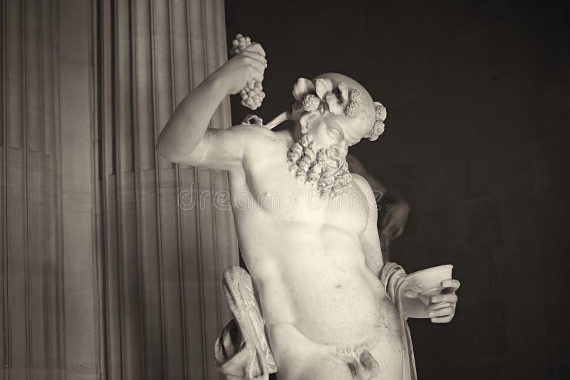 Statue. Louve Paris France famous stock photo
