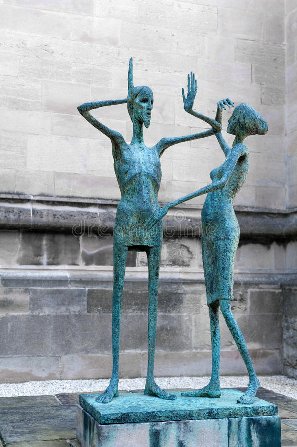 Download Statue, Magdalen College, Oxford. Editorial Image - Image of england, resurrection: 25453625