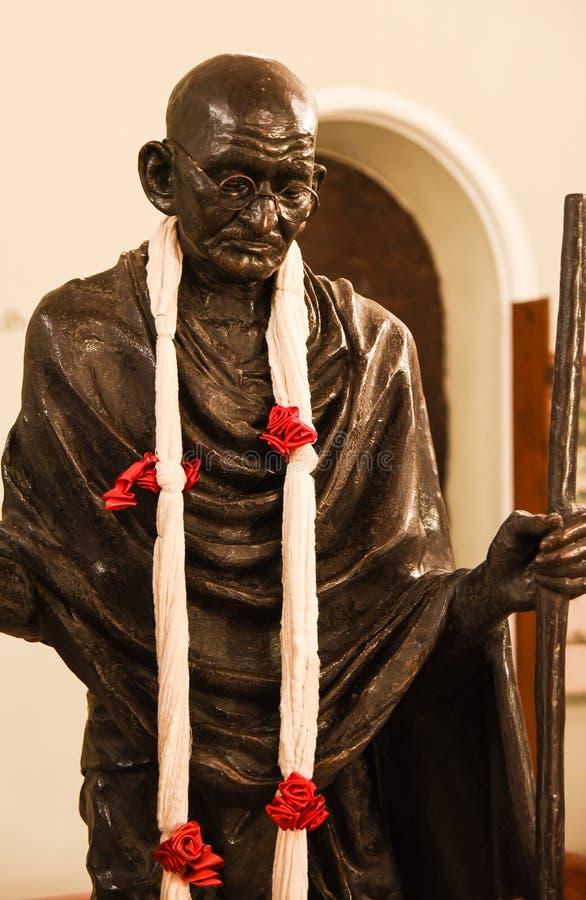 Statue of Mahatma Gandhi royalty free stock photography