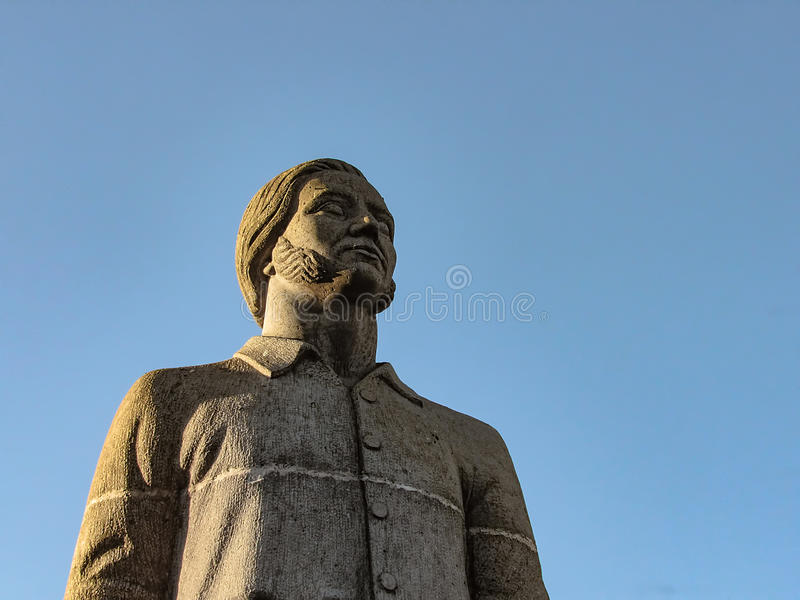 Statue of a Man stock photography