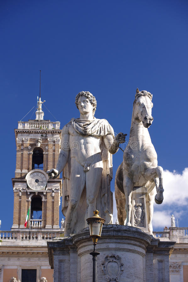 Download Statue Of Marcus Aurelius In Rome Stock Photo - Image: 27314646