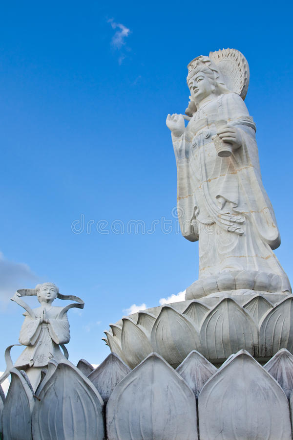 Statue of most important god in Chinese culture
