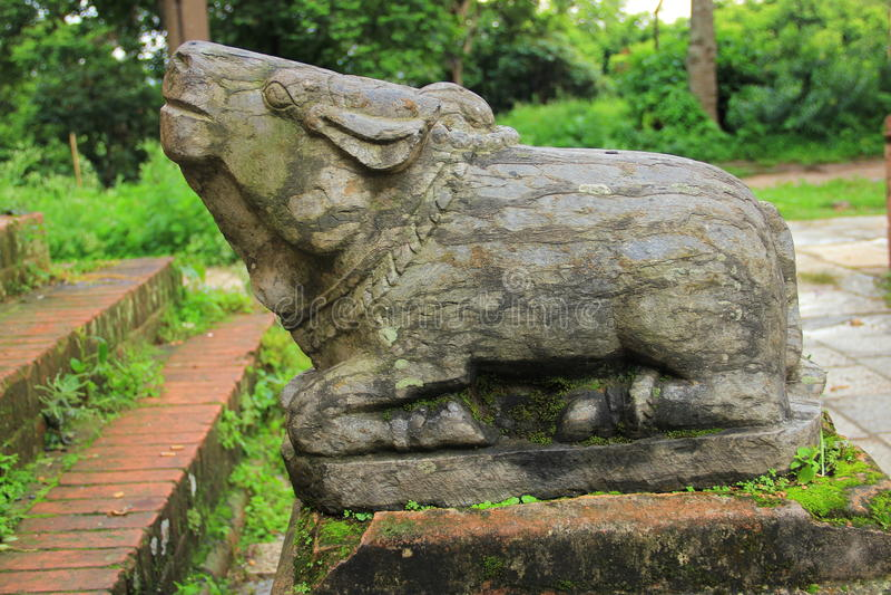 Statue of NANDI royalty free stock photos
