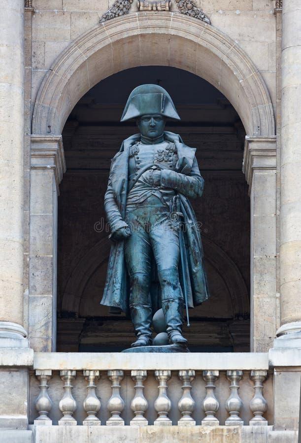 Statue Napoleon Bonaparte Paris, France. Statue of Napoleon Bonaparte in the Hotel des Invalides in Paris, France stock photography