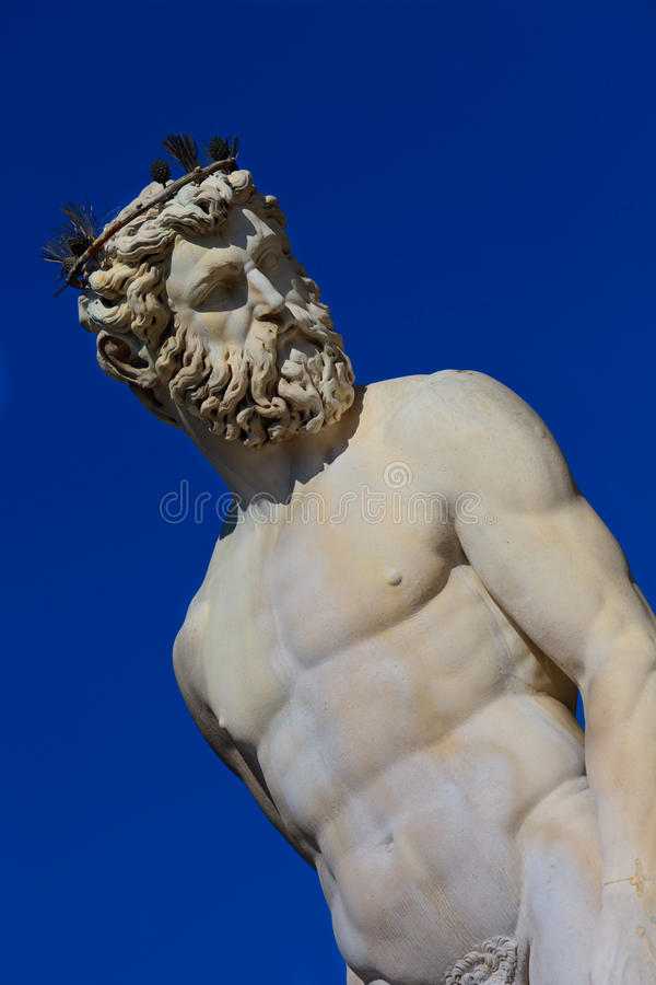 Statue Of Neptune Royalty Free Stock Image