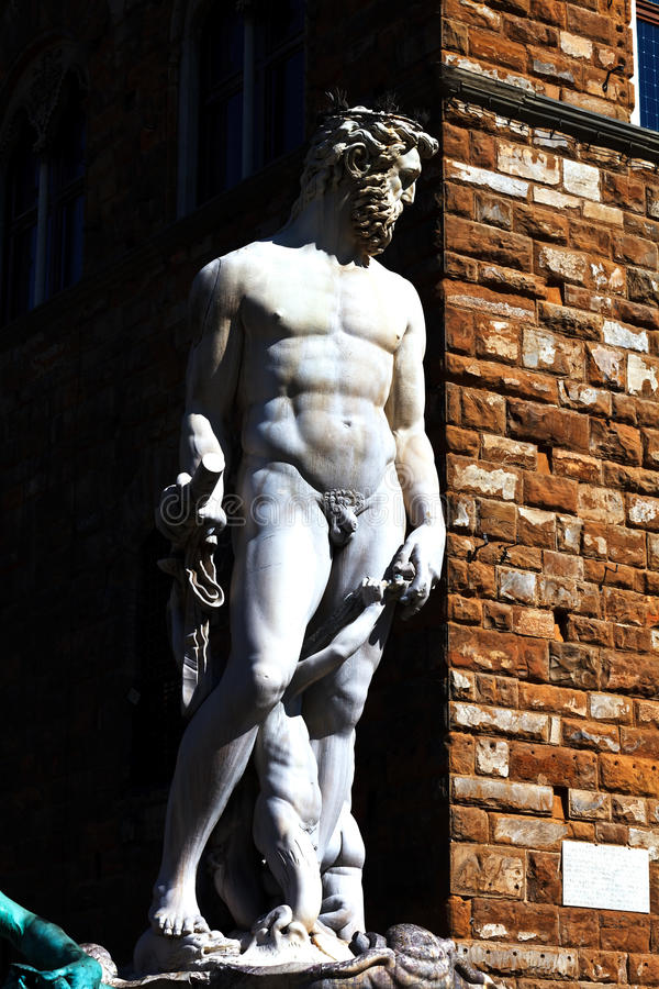 Download Statue of Neptune stock image. Image of deity, building - 25899285