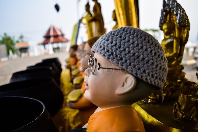 Statue novice Doi Kong Mu stock image