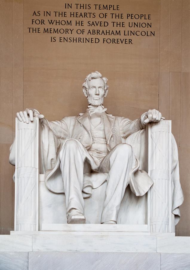 Free Statue Of Abraham Lincoln Royalty Free Stock Photo - 14158925