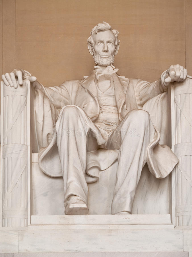 Free Statue Of Abraham Lincoln Royalty Free Stock Photography - 14295017