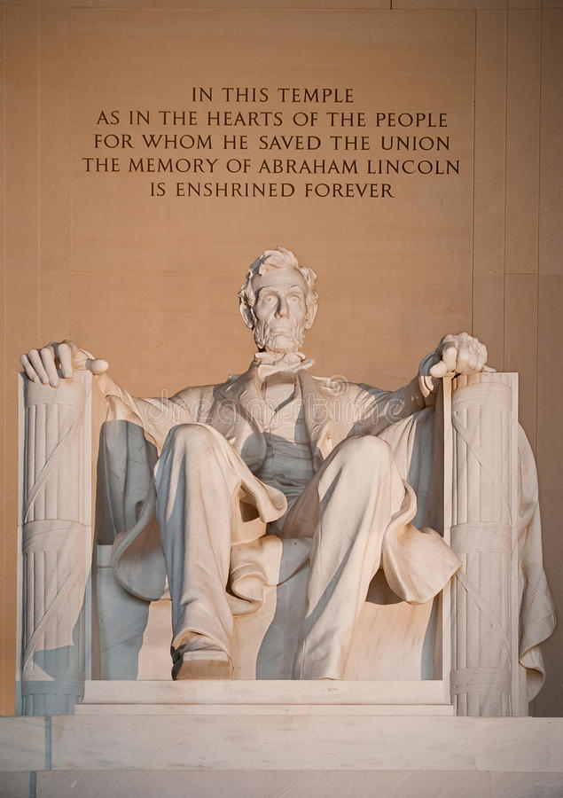 Free Statue Of Abraham Lincoln Stock Photography - 14295032