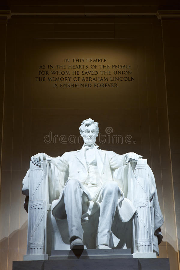 Free Statue Of Abraham Lincoln Stock Photo - 24575350
