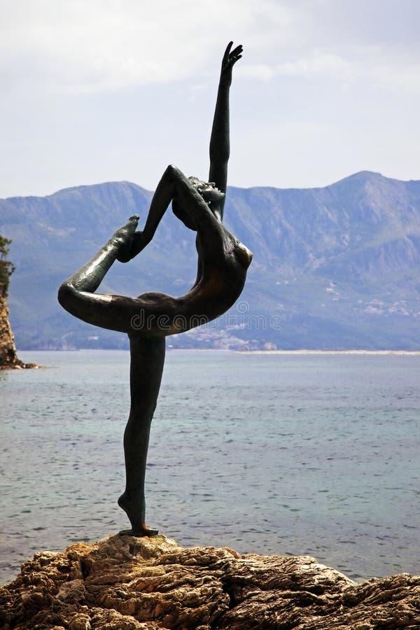 Free Statue Of Ballerina From Mogren Stock Image - 14739551