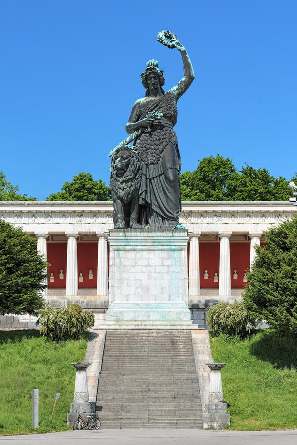 Free Statue Of Bavaria In Munich, Germany Royalty Free Stock Photos - 95355918
