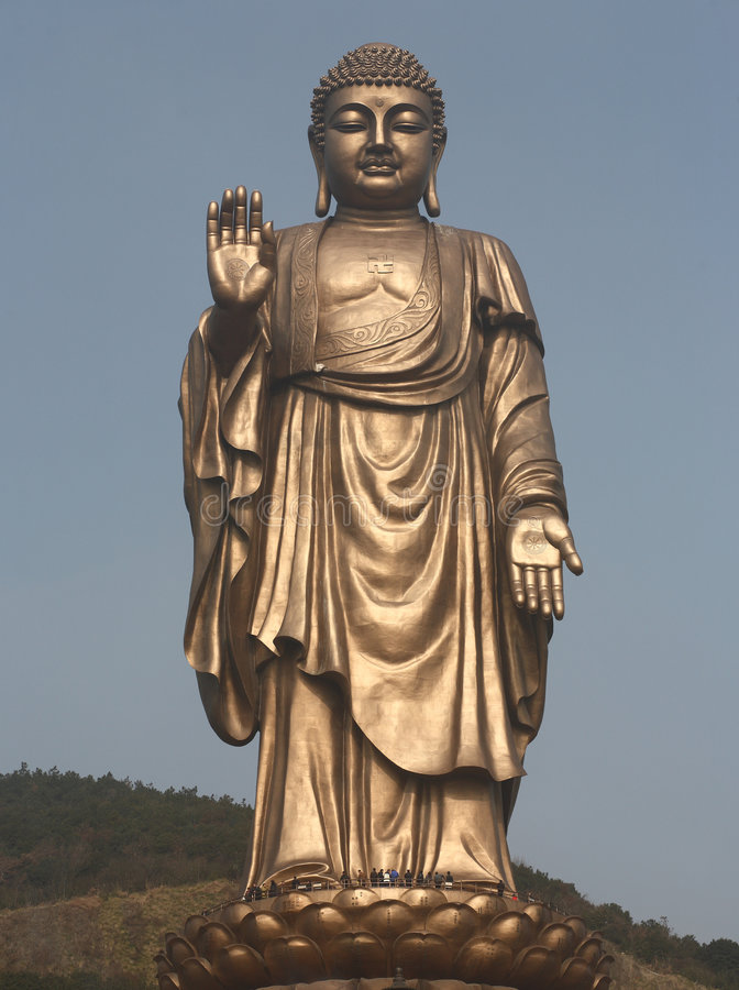Free Statue Of Buddha Royalty Free Stock Photography - 7999627