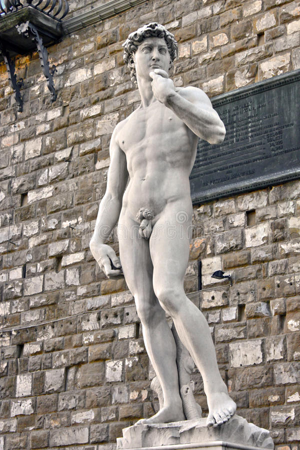 Free Statue Of David In Florence Stock Photo - 30145600