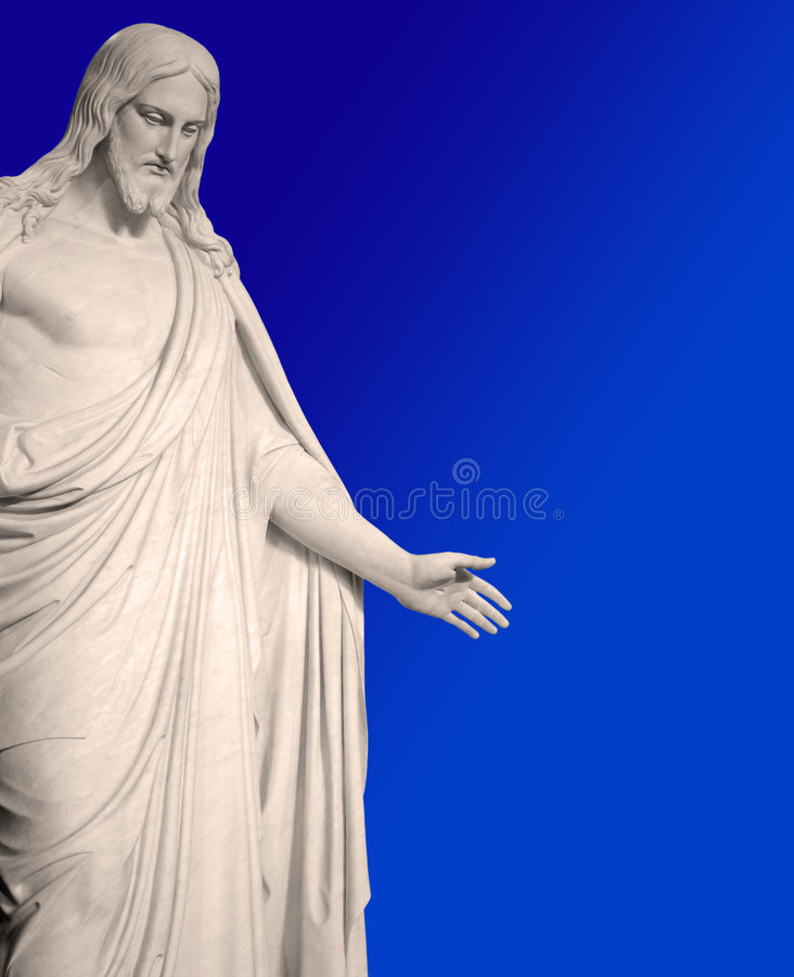 Free Statue Of Jesus Christ Stock Image - 8661241