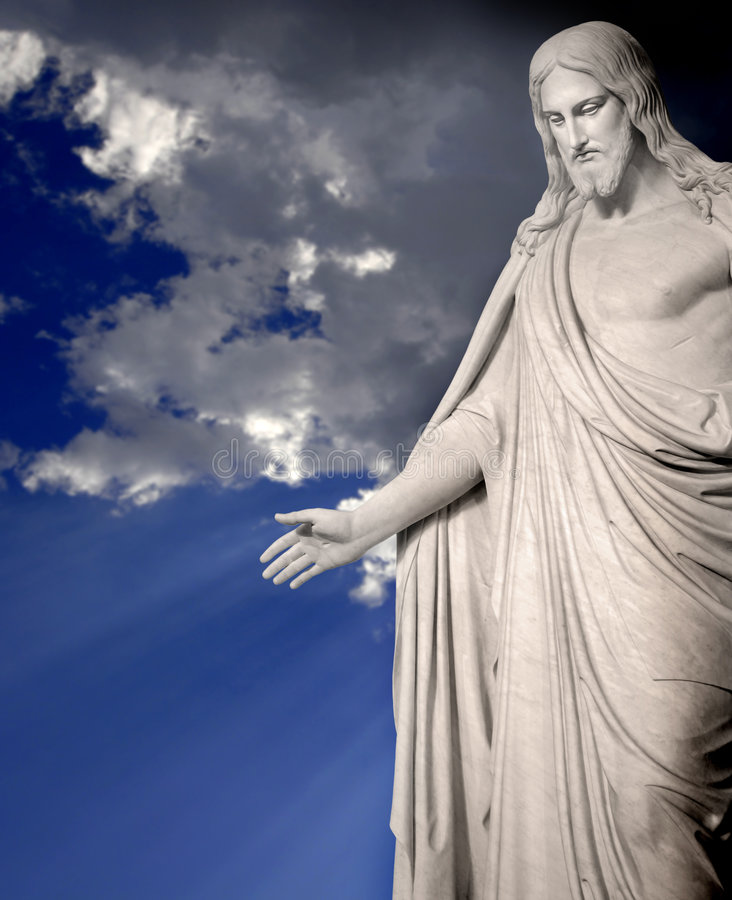 Free Statue Of Jesus Christ Stock Photos - 9074333