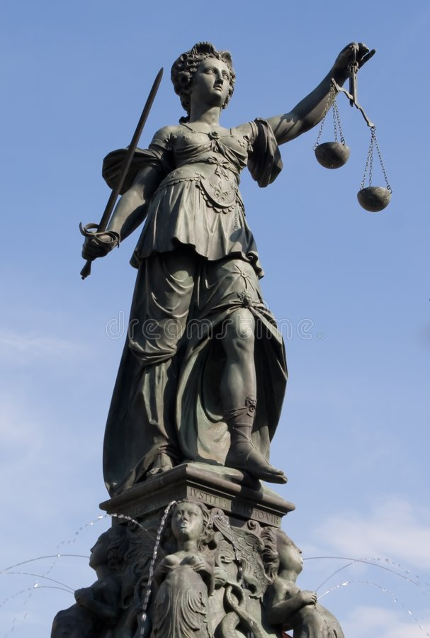 Free Statue Of Lady Justice Royalty Free Stock Photos - 7013458