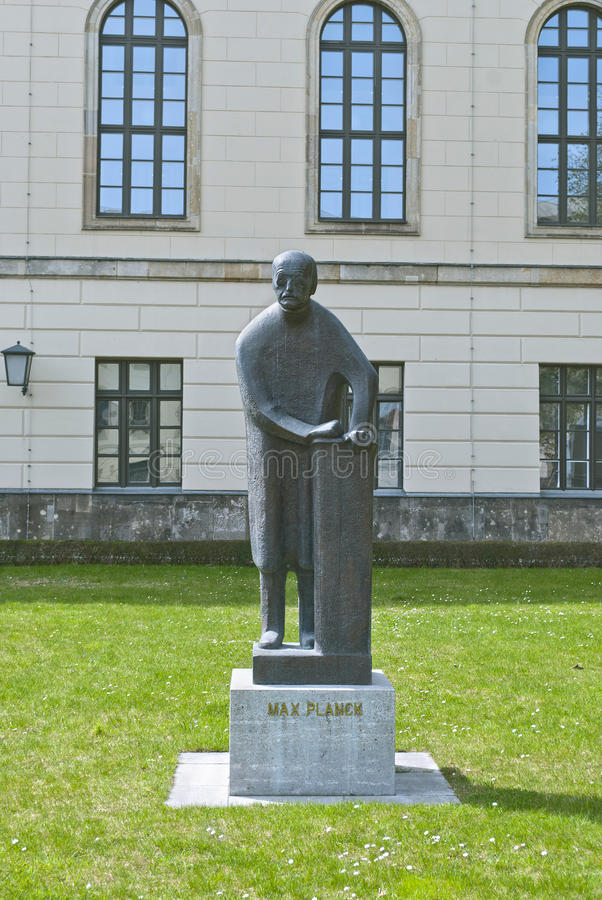 Free Statue Of Max Planck In Berlin Stock Images - 30618134